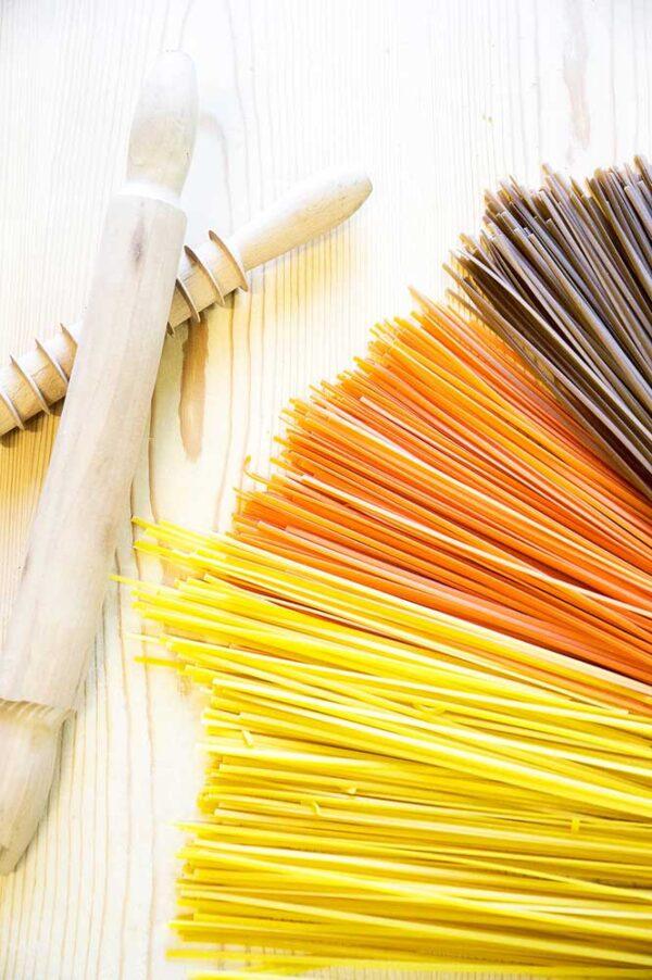 Diverse smaken linguine pasta