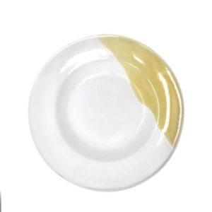 Italiaans pastabord okergeel